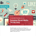 M-Brain European Social Media Survey 2015