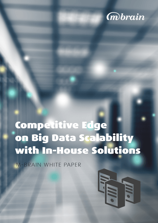 Competitive edge on big data scalability