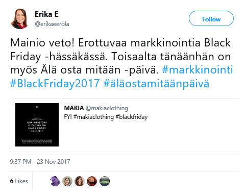 Black Friday Makia - M-Brain