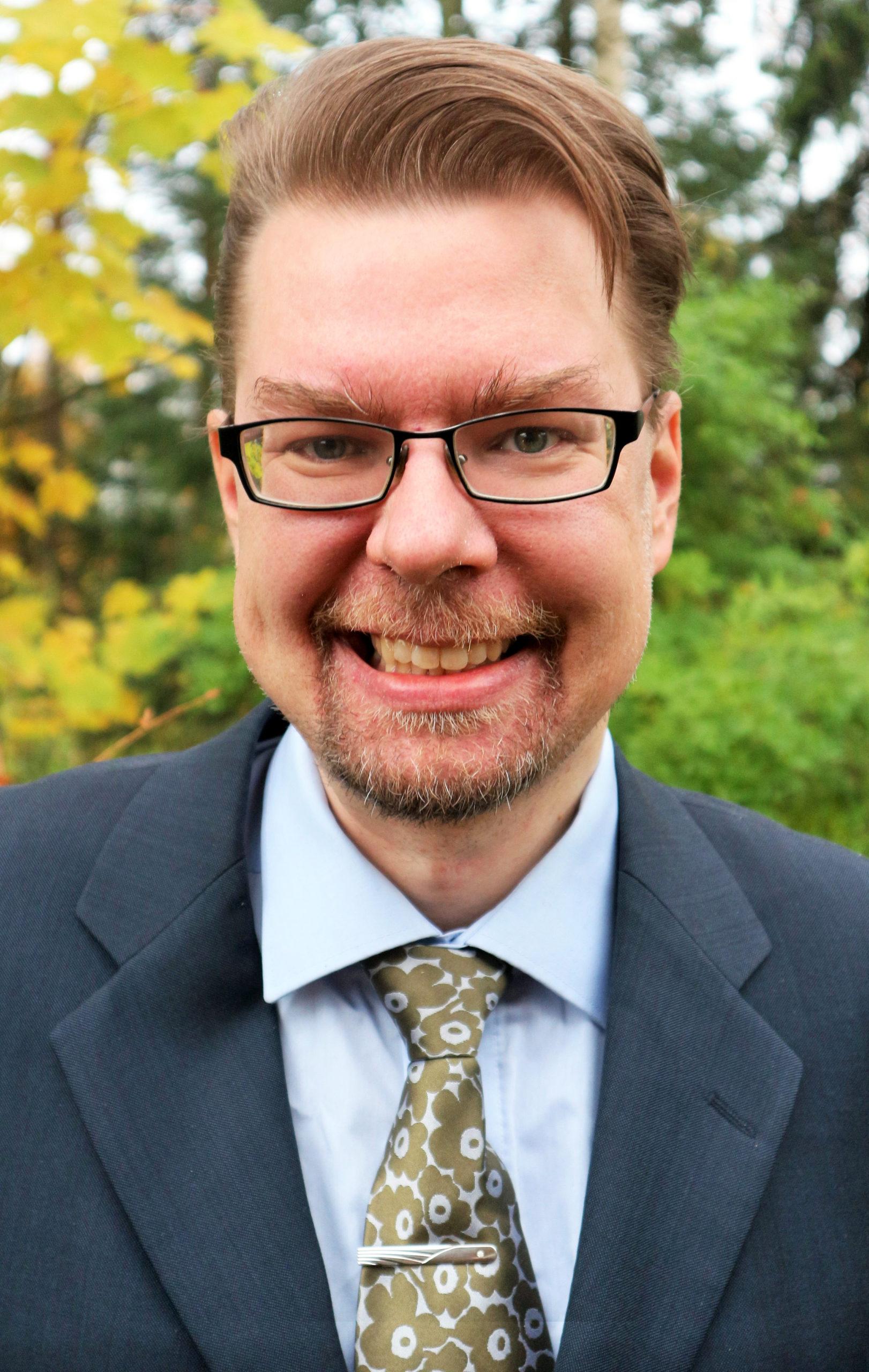 Kalle Nuortimo, Market Analyst, Sumitomo SHI FW