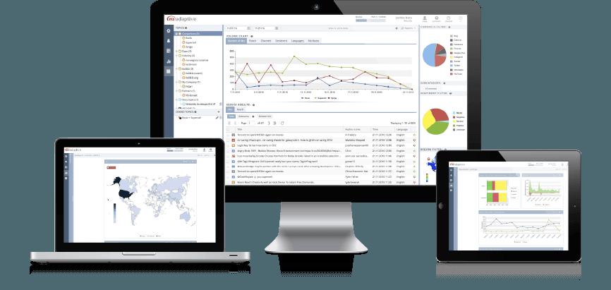 Media Monitoring Software M-Adaptive