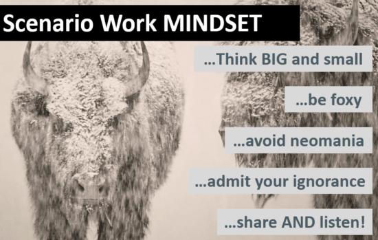 Scenario Work Mindset - M-Brain