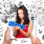 Social media girl - M-Brain