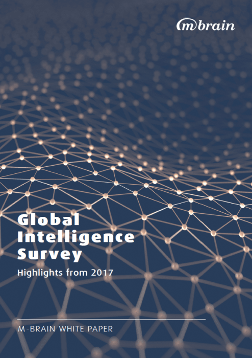M-Brain - Global Intelligence Survey 2017 - Cover Image